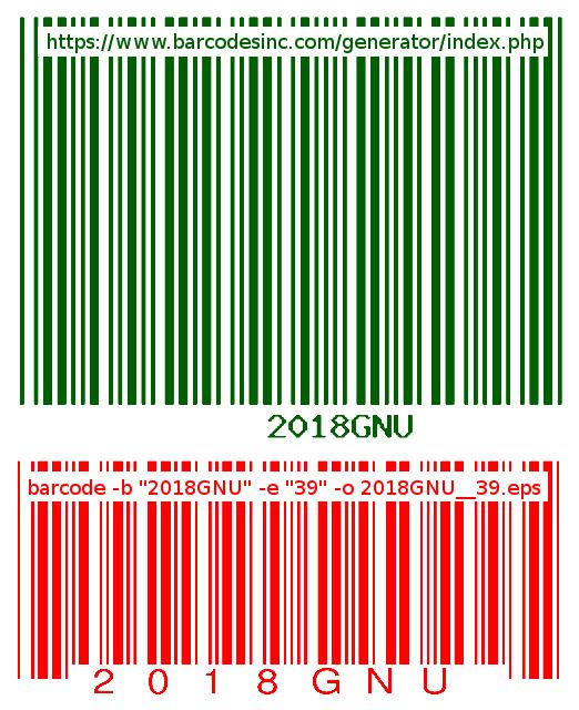 Re: [Bug-barcode] A bug