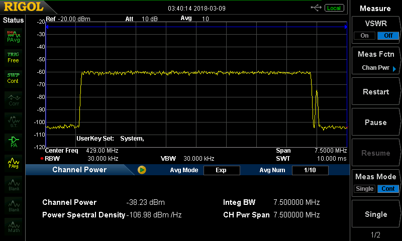 Usrp Frequency Range