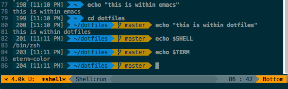 comint fix for shell colors