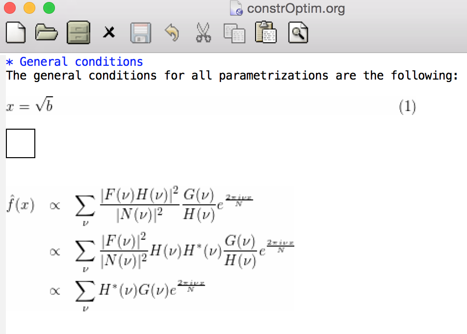 O] BUG?: LaTeX equation align in orgmode? - even in -Q